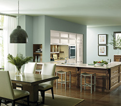 Dwelling Cabinetry  Style: Contemporary Riff  Material: Walnut  Finish: Natural
